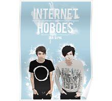 Dan & Phil - Blue Poster