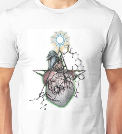 Heart of the Entheogenic ॐ Unisex T-Shirt