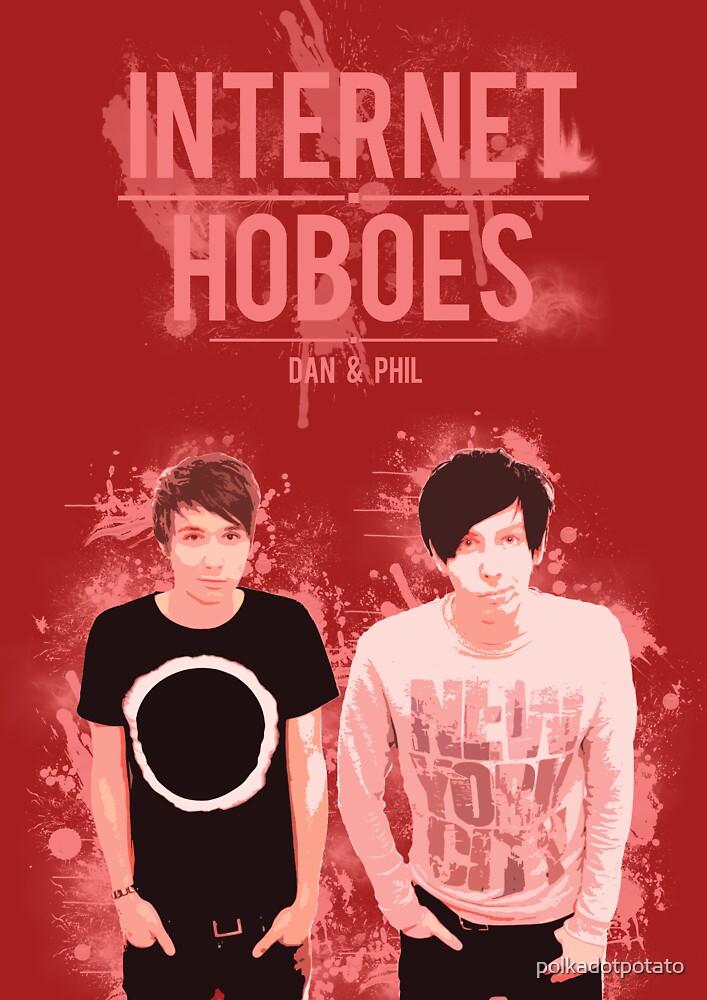 Dan & Phil - Red by polkadotpotato