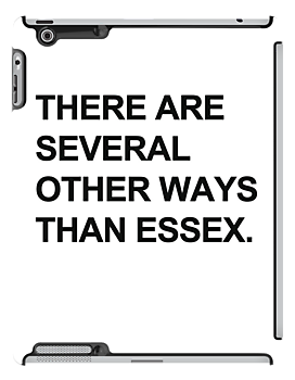 """Other Ways Than Essex"" - TOWIE / The Only Way Is Essex Design [BLACK TEXT] by Styl0"
