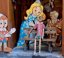 Puppet Bench by phil decocco