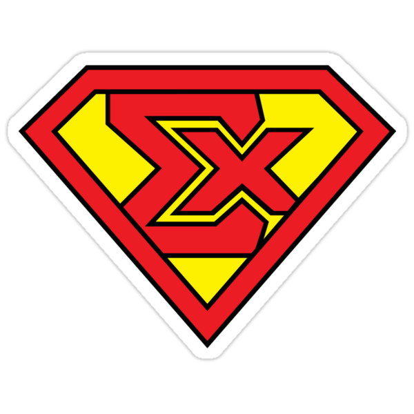 Super Sig Sticker Black by AgentTripleZero