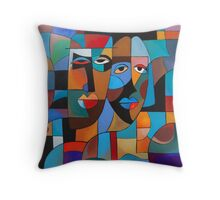 NIGHT ON THE TOWN II Throw Pillow