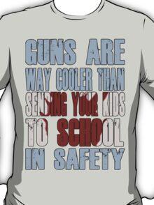 Guns Are Cool - School Kids T-Shirt
