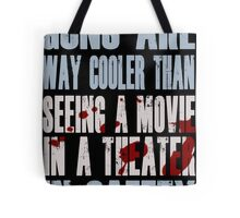 Guns Are Cool - Batman Tote Bag