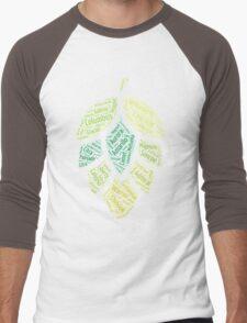 Hop Varietals Men's Baseball ¾ T-Shirt