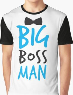 Big Boss Man with bow tie Graphic T-Shirt
