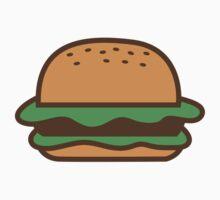 Hamburger bun with meat Baby Tee