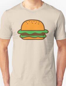 Hamburger bun with meat Unisex T-Shirt
