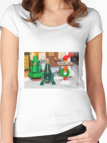 North Pole  Women's Fitted Scoop T-Shirt