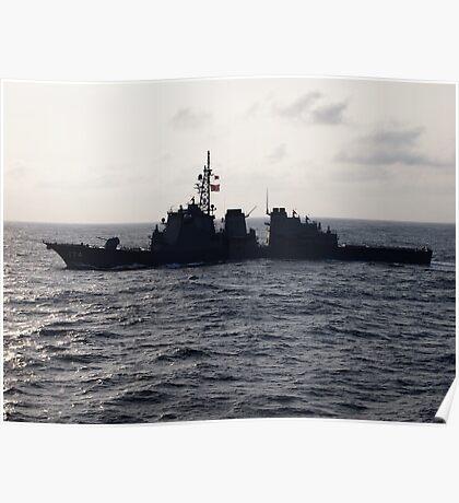 Japanese Battleship Poster