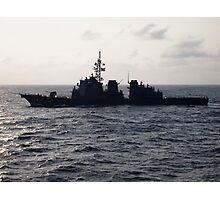 Japanese Battleship Photographic Print