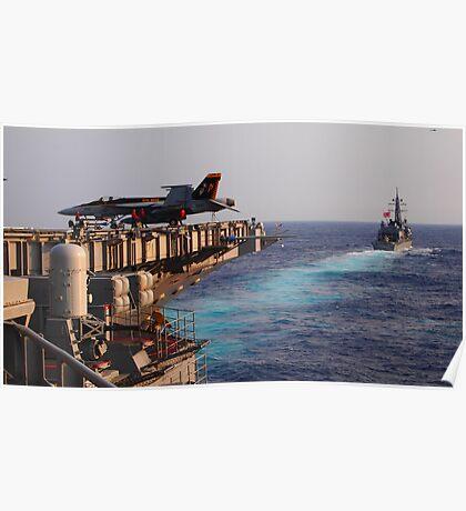 Japanese Battleship 4 Poster