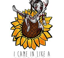 I came in like a SUNFLOWER by Emme Gray