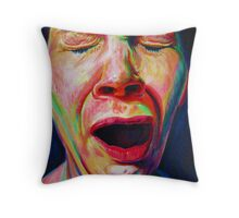 The Yawn Throw Pillow