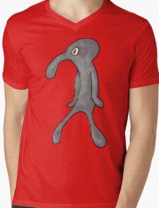 Squidward Shirt Mens V-Neck T-Shirt