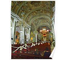 Catholic Church Interior Poster
