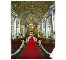 Catholic Church Interior 2 Poster