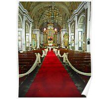 Catholic Church Interior 3 Poster