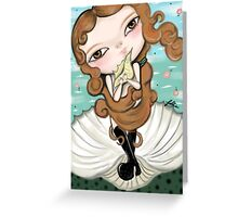 Born from Venus Greeting Card