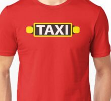 TAXI red cab light  Unisex T-Shirt