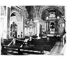 Catholic Church Interior 4 Poster