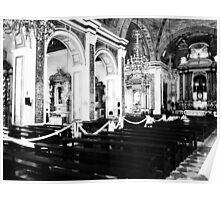 Catholic Church Interior 5 Poster