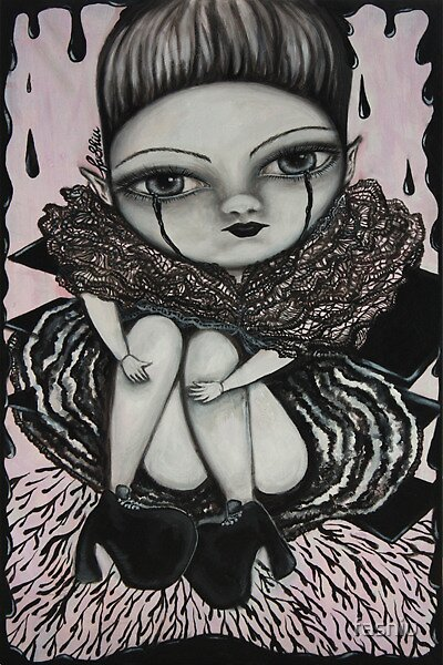 Ink hear girl in pink by fashiu