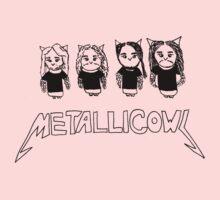 Metallic-owl Baby Tee