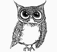 Serious Owl Unisex T-Shirt