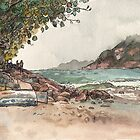 Shek O Beach by Adolfo Arranz