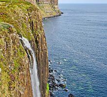Kilt Rock Waterfall by Chris Thaxter