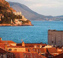 Dubrovnik at Sunset by Artur Bogacki