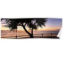 Sunrise - Lennox Head NSW Poster