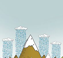 Rainy day over the Alps by Stevo & Chanel