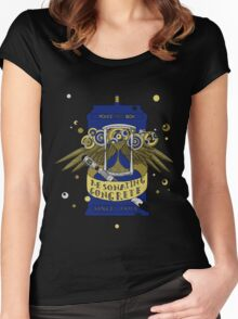 Resonating Concrete Since 1963 - Doctor Who Screwdriver & Tardis Women's Fitted Scoop T-Shirt