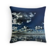 Sky n earth 2 Throw Pillow