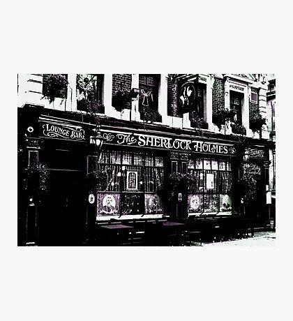 The Sherlock Holmes Pub  Photographic Print