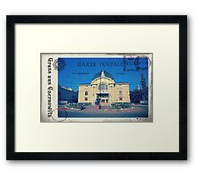 Greetings from Chernivtsi VII (Postcard) Framed Print
