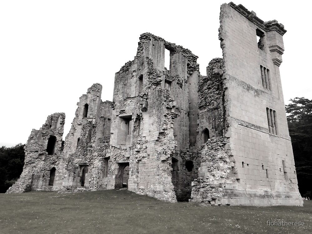 Old Wardour Castle, England by fionatherese