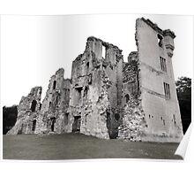 Old Wardour Castle, England Poster