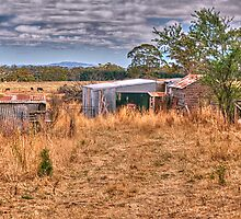 Country Pickers - Somewhere between Daylesford and Malmsbury - The HDR Experience by Philip Johnson