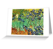 Irises, Vincent van Gogh Greeting Card