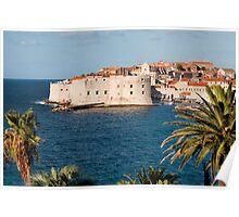 Dubrovnik in Croatia Poster