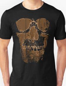 Skull Tee: Brown T-Shirt