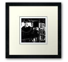 Billy's Coffee Framed Print
