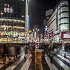 Shibuya crossing, Tokyo Japan by Gavin Poh