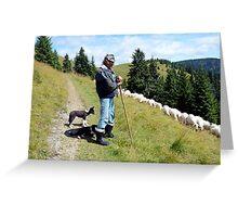 Mr shepherd Greeting Card