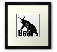 Beer Fun Framed Print