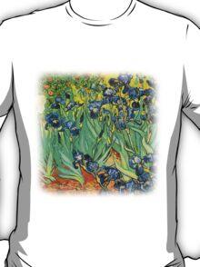 Irises, Vincent van Gogh T-Shirt